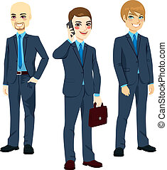 Three Successful Businessmen - Three successful businessmen...