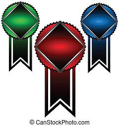 Three symbols