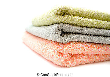 Three towels