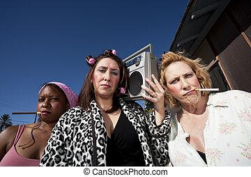 Three Trashy Women