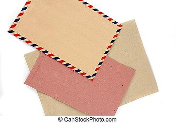 three types of envelopes