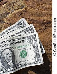 Three US dollars