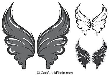 wing - three version wing.