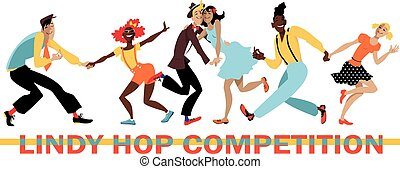 Lindy Hop Competition