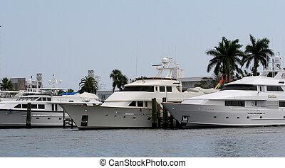 Three Yachts