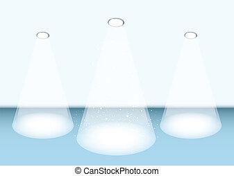 Threesome spotlight