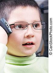 Thrilling phone talk