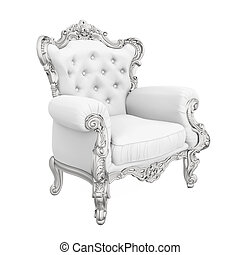 Throne Chair Isolated