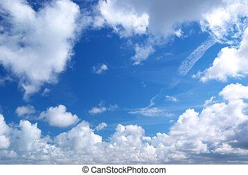 Through the sky