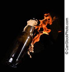 Molotov cocktail