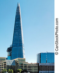 Ths Shard building in London