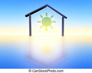 thuis, energie