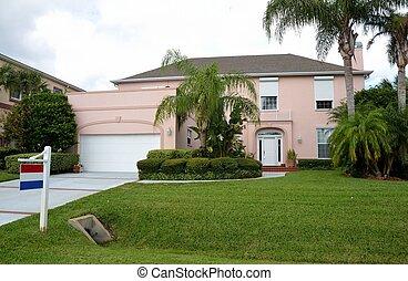 thuis, florida, verkoop