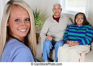 thuis, gezondheidszorg