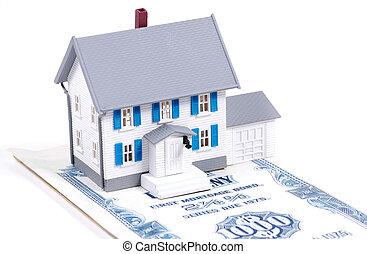 thuis, hypotheek