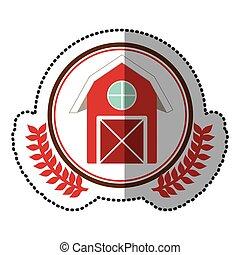 thuis, symbool, meldingsbord, pictogram
