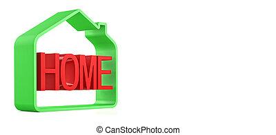 thuis, symbool