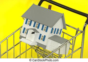 thuis, verkoop