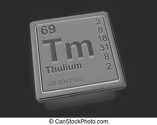 Thulium. Chemical element.
