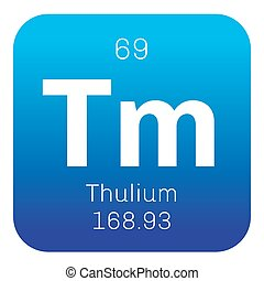 Thulium chemical element