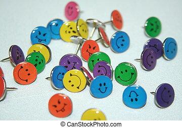 thumb tacks VIII - happy thumb tacks