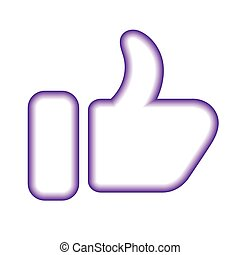 thumb up contour