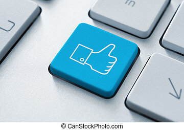 Thumb Up Like Button