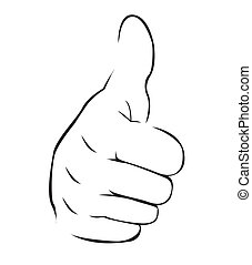 Thumb Up Simple Symbol