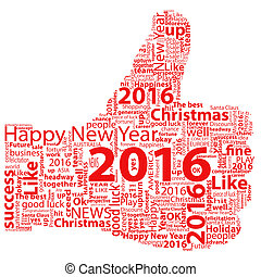 Thumb Up Symbol 2016 - Thumbs up symbol 2016 year, which is...