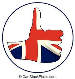 Thumbs Up England