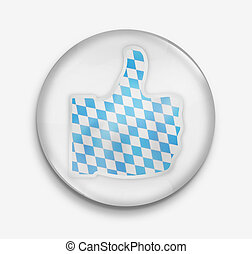 thumbs up icon symbol