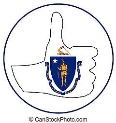 Thumbs Up Massachusetts