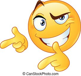 thumbs up pointing fingers emoticon