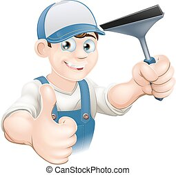 Thumbs Up Window Cleaner