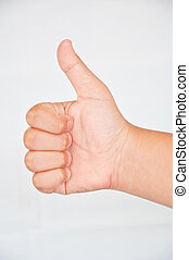 Thump from children - thump from children hand
