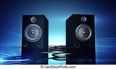 Thumping Bass Speakers - Thumping woofer speakers.
