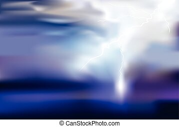 thunder, lighting vector background