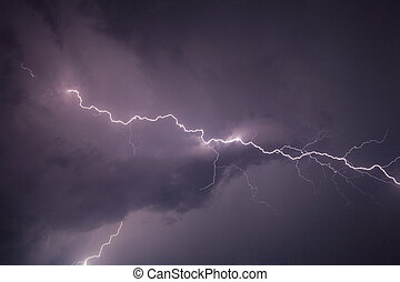 Thunderbolt - Thunderstom over Bern, Switzerland