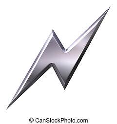 thunderbolt, zilver