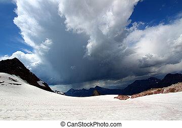 Thunderstorm Glacier National Park