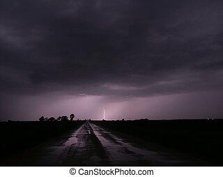 Thunderstorm Lightning - Illinois