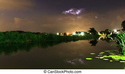 Thunderstorm timelapse zoom - Beautiful FULL HD 30fps time...