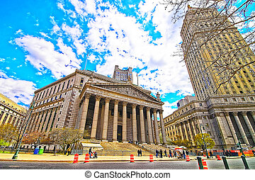 Thurgood Marshall United States Courthhouse and New York Supreme Court