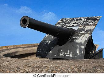 Thursday Island old war gun