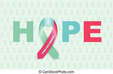 thyroid cancer ribbon