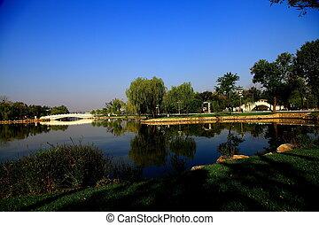 tianjin, 水上公園, 美しさ
