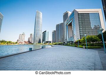 tianjin cityscape
