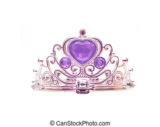 Tiara - A tiara isolated against a white background