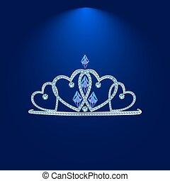 tiara with precious stones 4