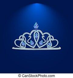 tiara with precious stones 5